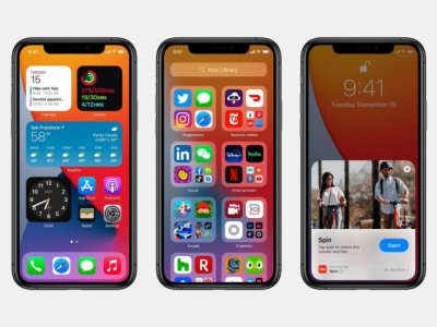 iOS 14 with new home screen widgets and App Library available for download today