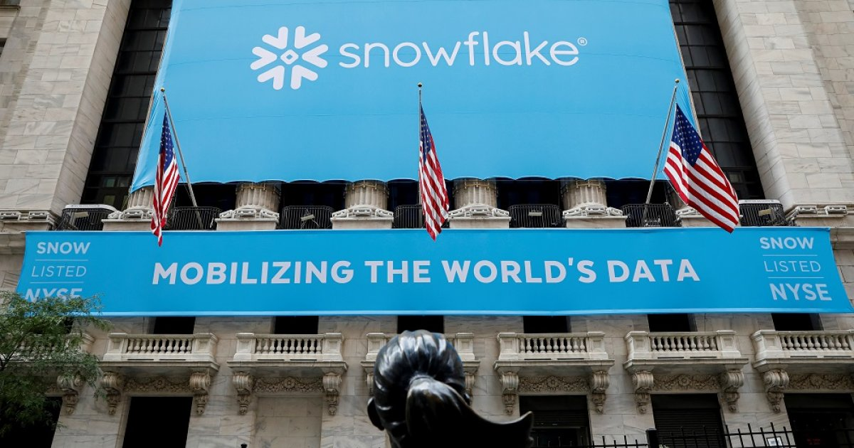 Buffett-backed Snowflake's value doubles in stock market's ...Snowflake Ipo Listing
