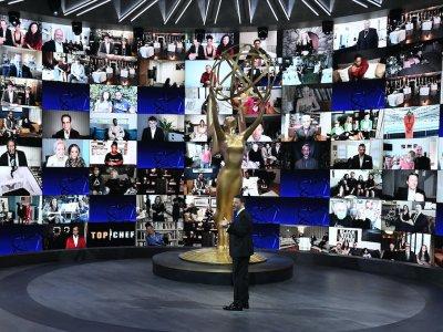 Emmys style: Gowns, pyjamas and... hazmat tuxedos