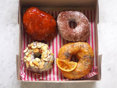 RMCO food delivery: Order these pillow-soft sourdough doughnuts from PJ's Halo Doughnut