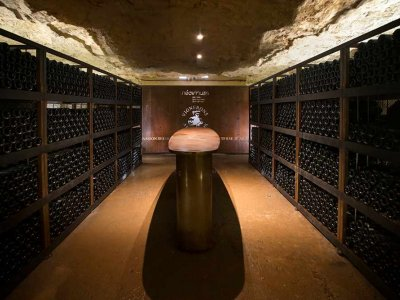 Winemakers test deep underground and even undersea storage