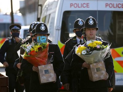Shock after rare killing of UK police officer in line of duty