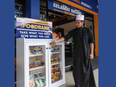 华裔传教士又送暖!便利商店Elews Mart设食物银行
