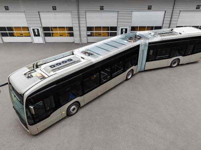 Mercedes-Benz has created greener battery packs for its all-electric buses