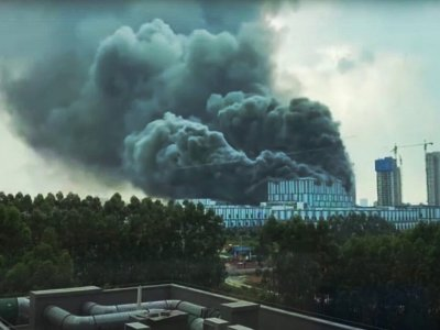 Three dead in fire at Huawei campus in southern China