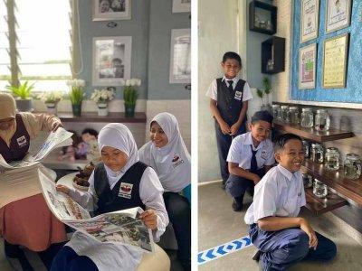 打造良好学习环境 丹州爱心教师自掏腰包布置课室!