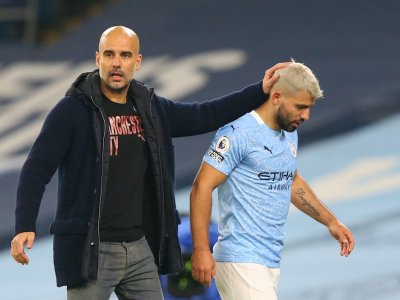 City boss Guardiola continues to back Aguero over female linesman incident