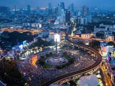 报导反政府示威影响国安     泰国警方拟调查媒体