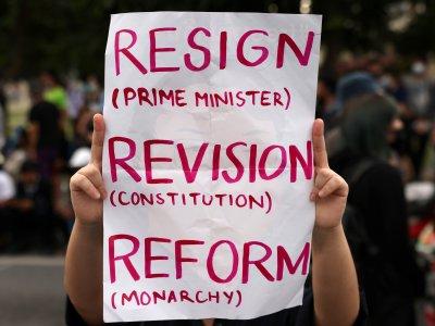 示威者限3天下台!泰相让步撤紧急状态令