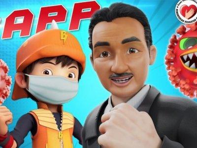 教育观众对抗病毒的方法!诺希山在《BoBoiBoy》惊喜现身又献声
