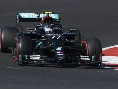 Bottas completes sweep of Portuguese GP practice