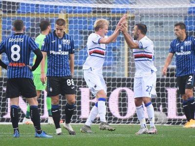 Quagliarella scores, misses penalty as Sampdoria shock Atlanta