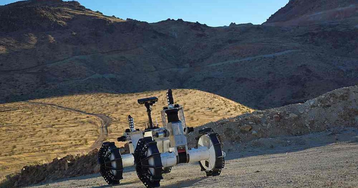 Nasa's DuAxel is a two-in-one rover built for extreme terrain - Malay Mail