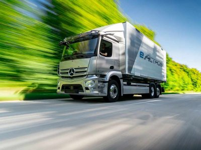 All-electric and hydrogen trucks to carry freight on tomorrow's roads