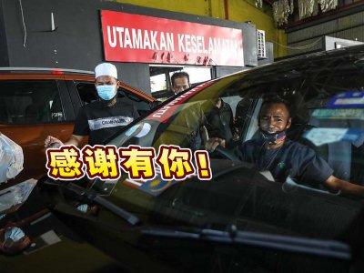 机场德士载客量大跌 华裔传教士赠司机暖心饭盒!