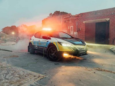 This car can produce electricity for emergency response (VIDEO)