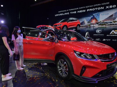 AG Autoworld in Johor receives over 300 bookings for Proton X50
