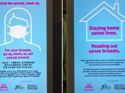 Breast Cancer Foundation apologises for causing 'any confusion or offence to anyone' after posters drew flak