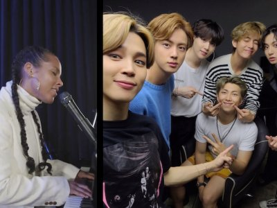 Alicia Keys wins over BTS fans with soulful cover of K-pop hit 'Life Goes On' (VIDEO)