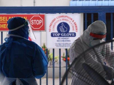 顶级手套150病例来自社区 164本地厂工感染家人