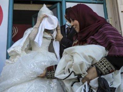 Small is beautiful: Gaza's toned-down Covid-era weddings