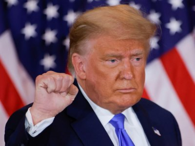 US Republicans balk as Trump uses defence bill for leverage on Big Tech