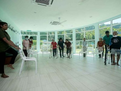 Centre in Ipoh helps families ensure dementia patients get the care, exercise they need