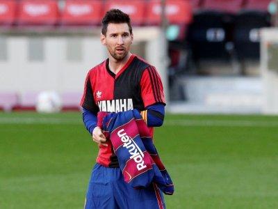 Messi fined for Maradona tribute celebration