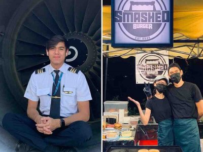 Craving for Oman burgers leads retrenched Malaysian pilot to open stall selling 'smashed' patties