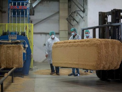 Car parts made from rice husks coming soon?