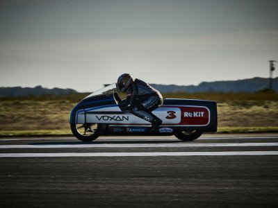 The world's fastest electric motorcycle hits 408 km/h