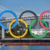 Giant Olympic rings return as Tokyo bids to build excitement