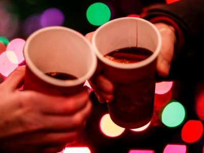'Roving aperitifs' of mulled wine cheer Covid-weary Parisians