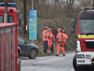 Multiple casualties in blast at English water recycling centre