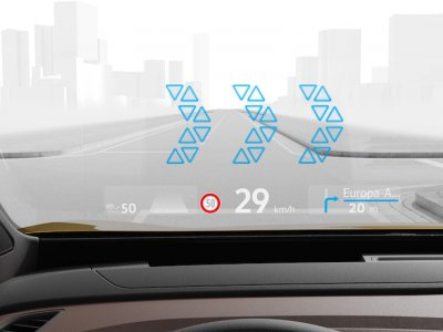 Augmented reality head-up display in cars will soon be mainstream