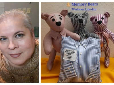 Mexican woman sews teddy bears made from clothing of Covid-19 victims to help relatives cope with loss of loved ones