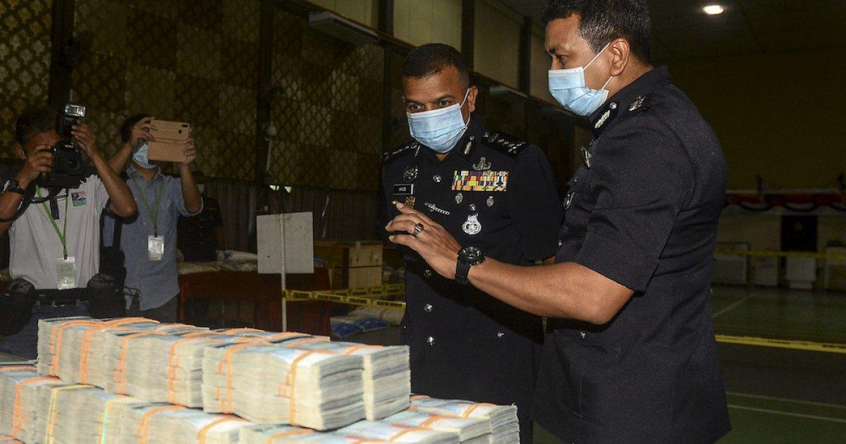 Johor police seize drugs worth RM201m, biggest seizure in Narcotics Dept history