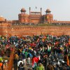 Security tight at India's historic Red Fort after clashes with farmers