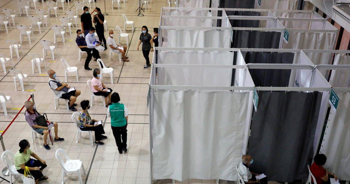 逾11万新加坡人打新冠疫苗仅3人出现严重过敏  狮城  精彩大马