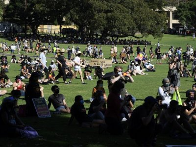 Five arrested as Australia Day protests draw thousands