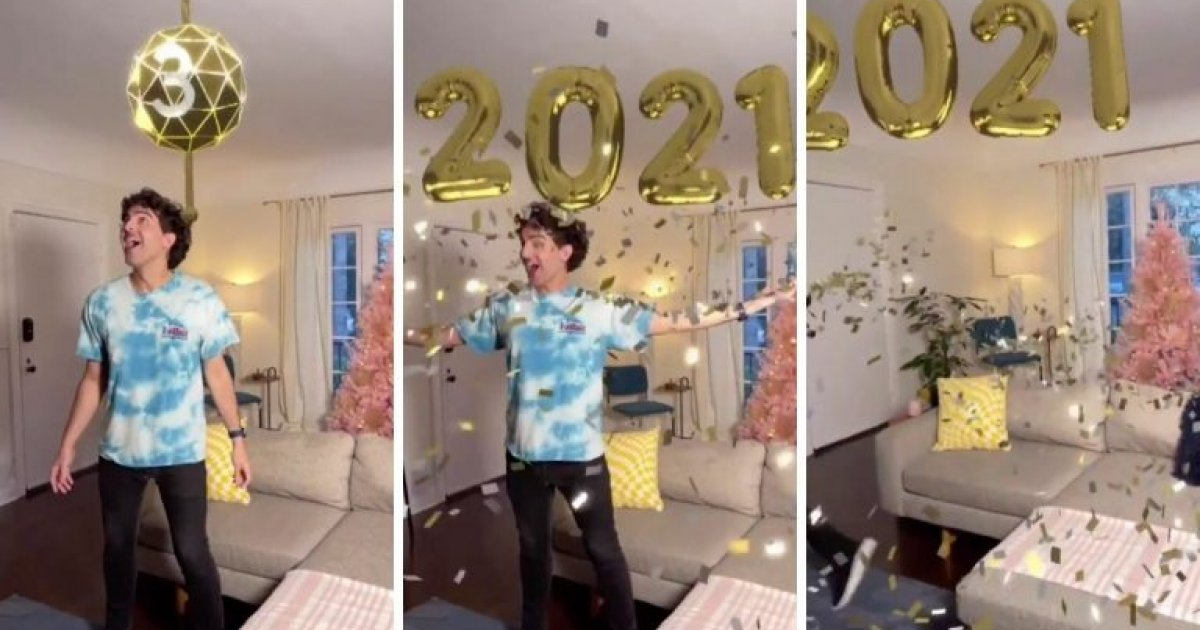TikTok lets iPhone 12 Pro users 'hold' confetti with an AR filter, thanks  to the LiDAR scanner (VIDEO) | Tech/Gadgets | Malay Mail