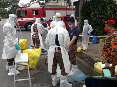 Johor Bomba to conduct sanitisation operations at state's three main entry points starting tomorrow