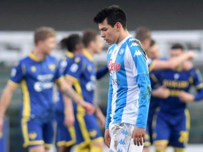 Napoli lose at Verona as Juve move into top four