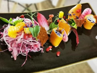 French eatery is first vegan restaurant to win a Michelin star