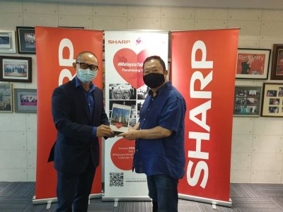 Sharp Malaysia to support the needy affected by Covid-19 pandemic with its #MalaysiaTabah2021 special edition calendar