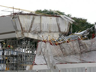 Singapore construction firm, two senior staff convicted over 2017 PIE viaduct collapse that killed foreign worker