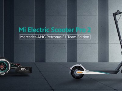 Xiaomi unveils Mercedes-AMG Petronas F1 Team Edition of its Mi Electric Scooter Pro 2