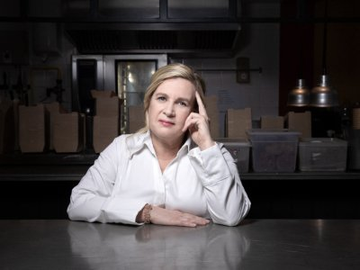 French chef Darroze credits femininity for her five Michelin stars