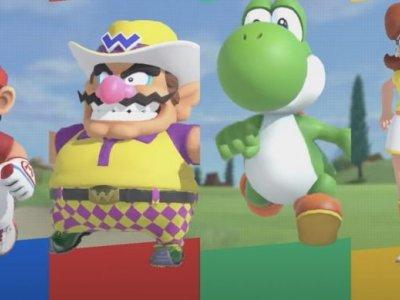 Nintendo's upcoming Mario Golf will include a fine, fresh, fierce-looking Wario (VIDEO)