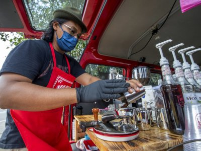 Former airline officer takes to the streets of Kelantan to sell coffee, Aussie-style